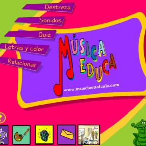Musica Educa. Educa Juegos. Inteligencia Musical