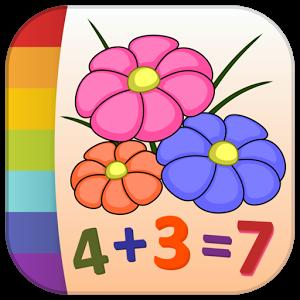 Pintar flores por números