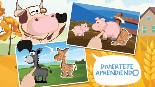 Puzzles de animales de granja