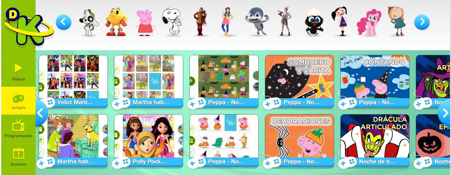 Discoverykids Gran Variedad De Juegos Educativos