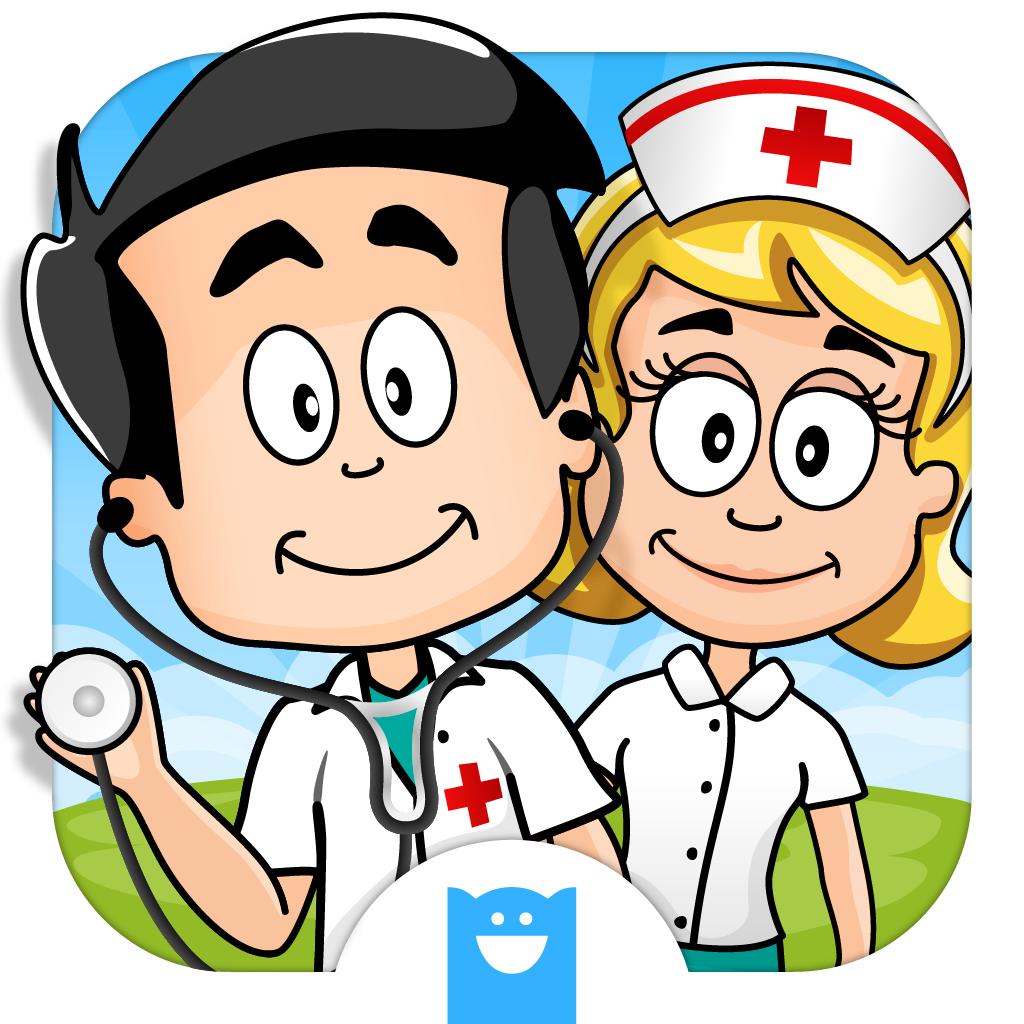 Puedes ser un doctor y tratar a los niños en un hospital