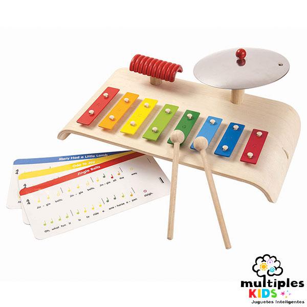 Set musical con partituras