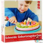 Tarta de cumpleaños matemática