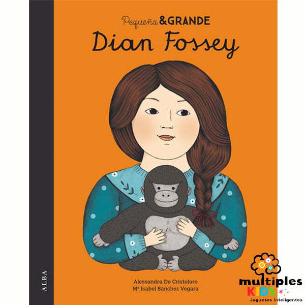 Dian Fossey. Colección Pequeña y Grande Mujer