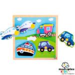 Puzzle medios de transporte