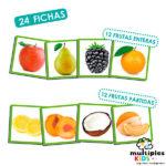 El olfato: frutas y sus aromas