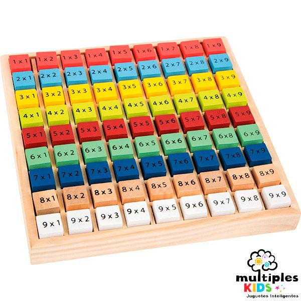 Multiplica colorido