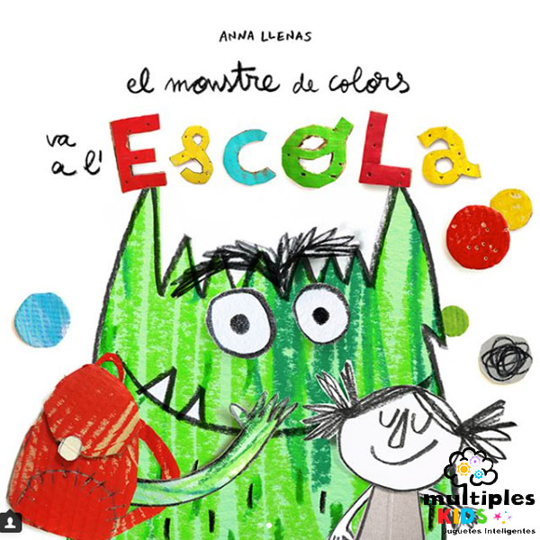 monstre de colors va a l'escola