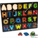 Puzzle espacial letras