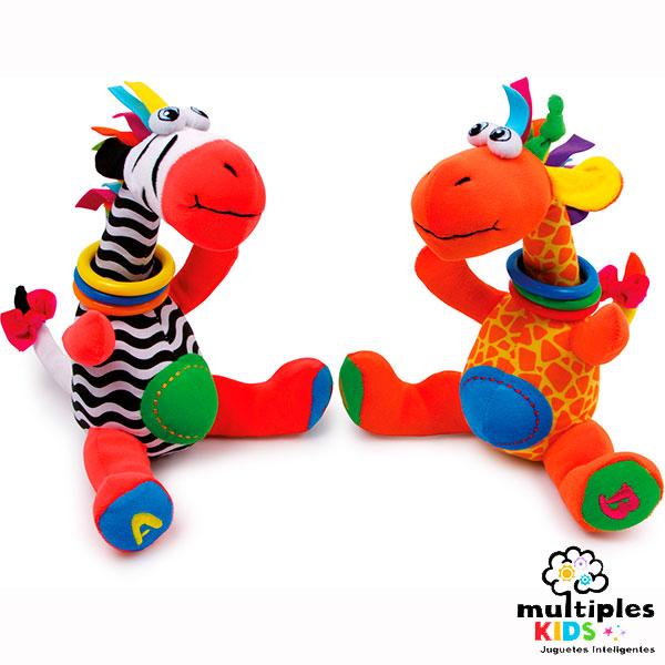 Jirafas coloridas sensoriales