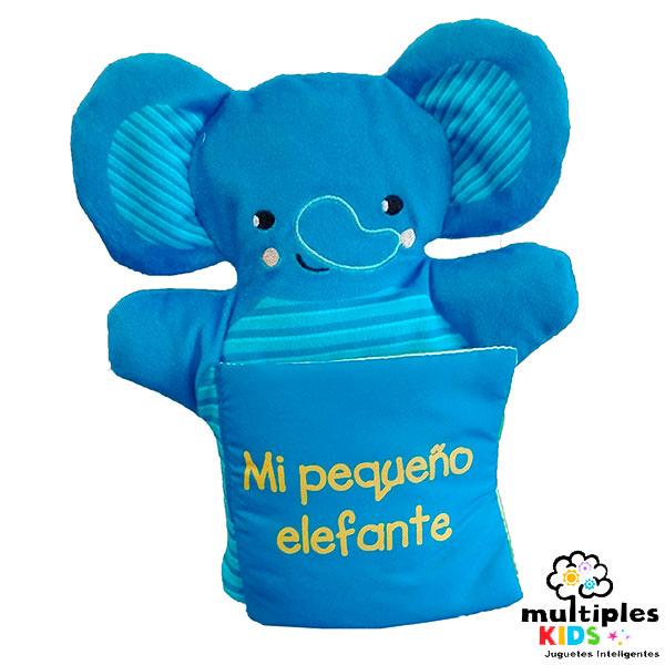 libro marioneta, mi peque elefante