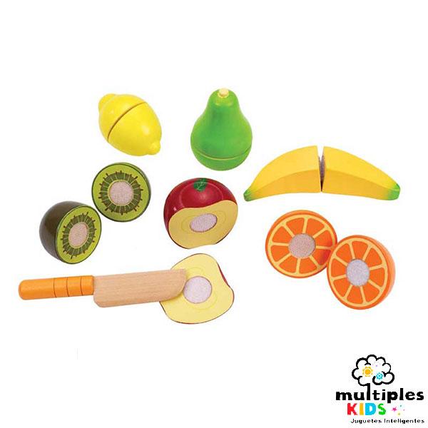 Set de frutas para cortar