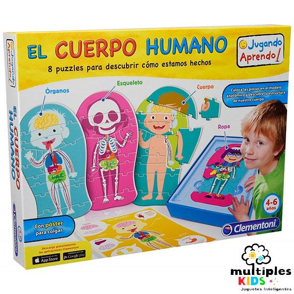 El cuerpo humano en puzzle
