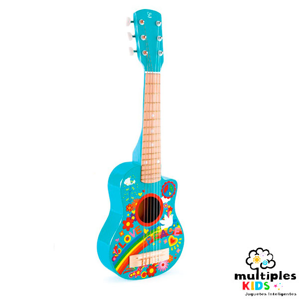 Guitarra hippie