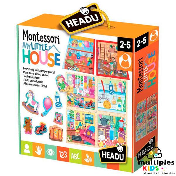 Puzzle Montessori mi peque casa