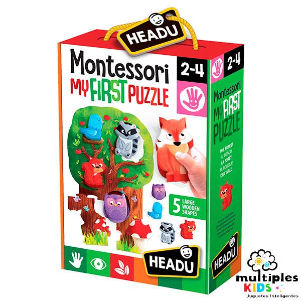 Mi primer puzzle Montessori