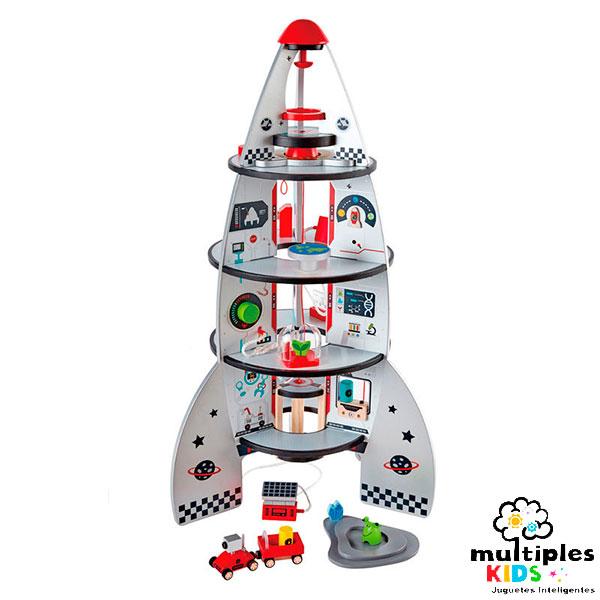 Cohete espacial 4 pisos
