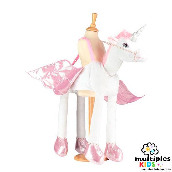 Disfraz de unicornio con luces y sonidos