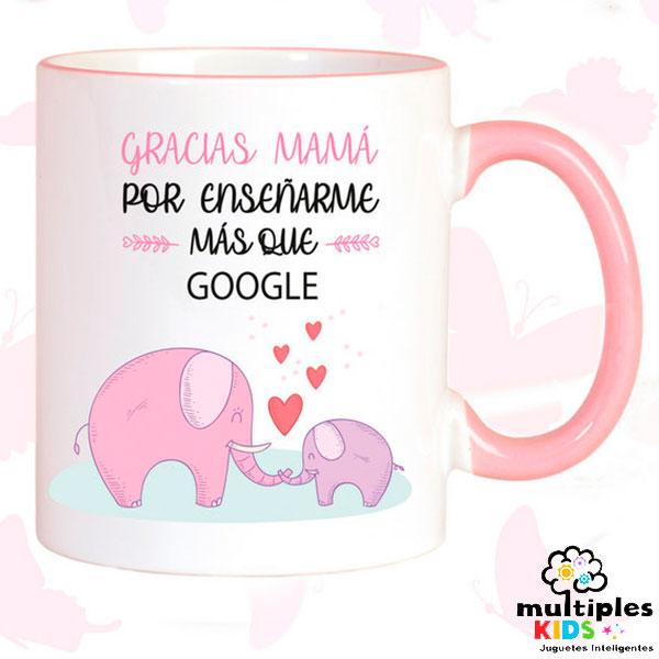 Taza gracias mamá por enseñarme más que google