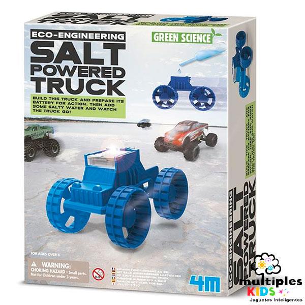 Salt-Powered Truck