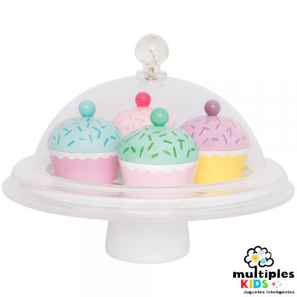 Cupcakes madera