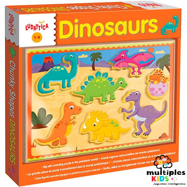Encajable Ludattica Dinosaurios