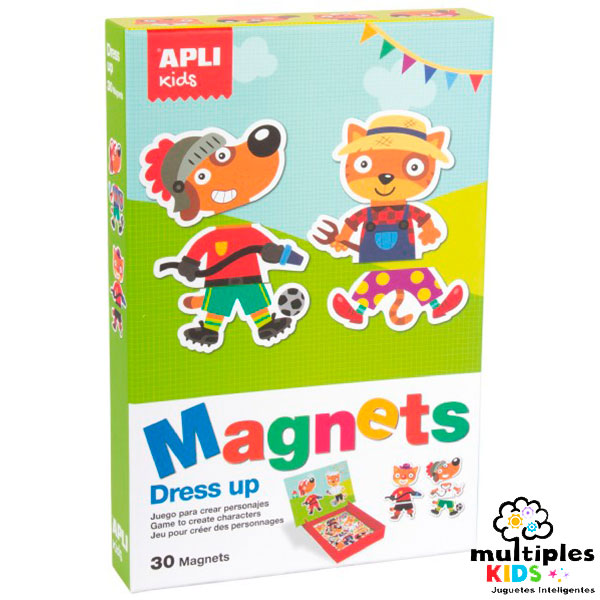 Magnets dress up