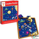Puzzle creativo In the Space