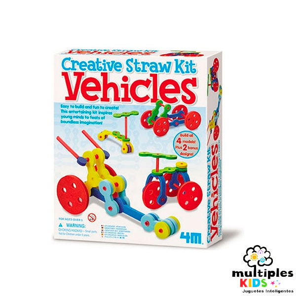 Creative Straw Kit vehiculos