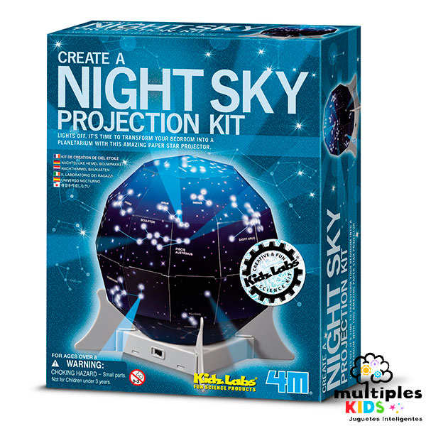 KidsLabs night sky projection kit