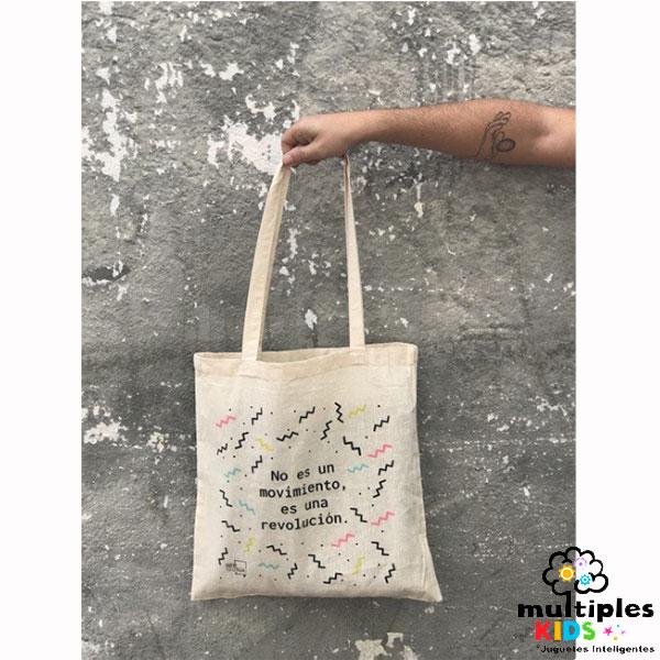 Bolsa de tela No es un movimiento, es una revolución