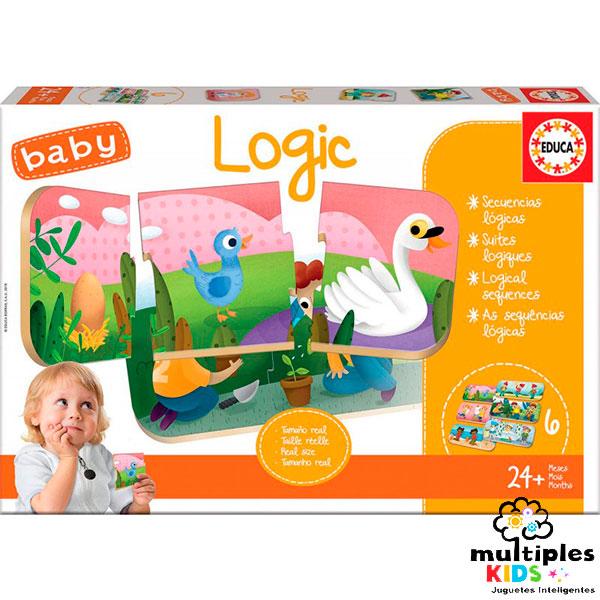 Logic Baby puzle relaciona