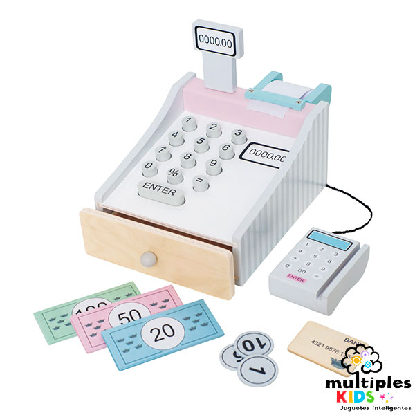 Caja registradora pastel