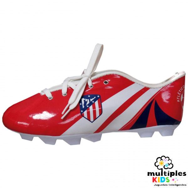 Estuche bota de futbol del Atleti