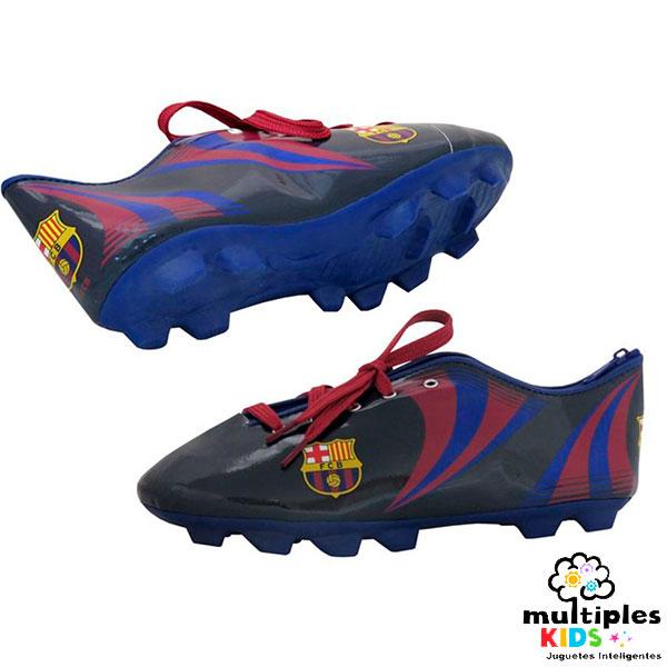 Estuche bota de futbol del Barcelona Futbol Club