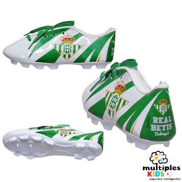 Estuche bota de futbol del Betis