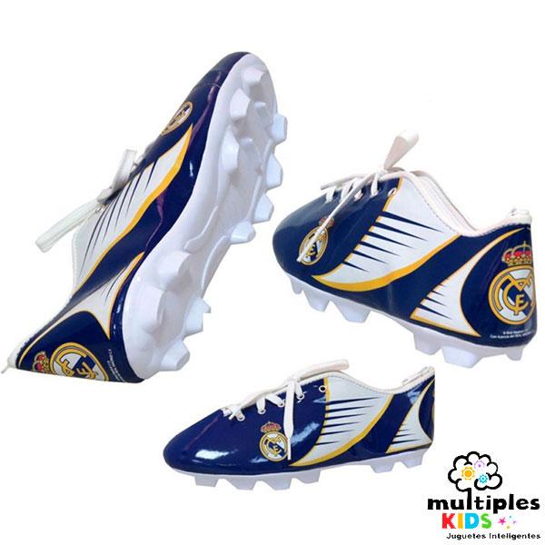 Estuche bota de futbol del Real Madrid