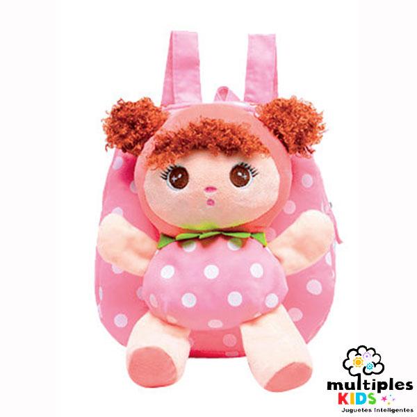 Mochila con muñeca extraible