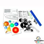 Solar system mobile making