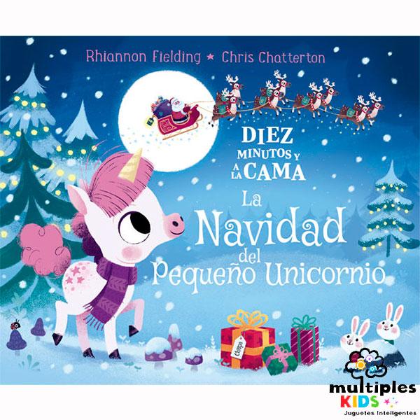 Navidad del pequeño unicornio