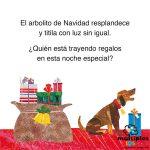 La pequeña Oruga Glotona en Navidad