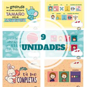 Pack de 9 Postales inclusivas