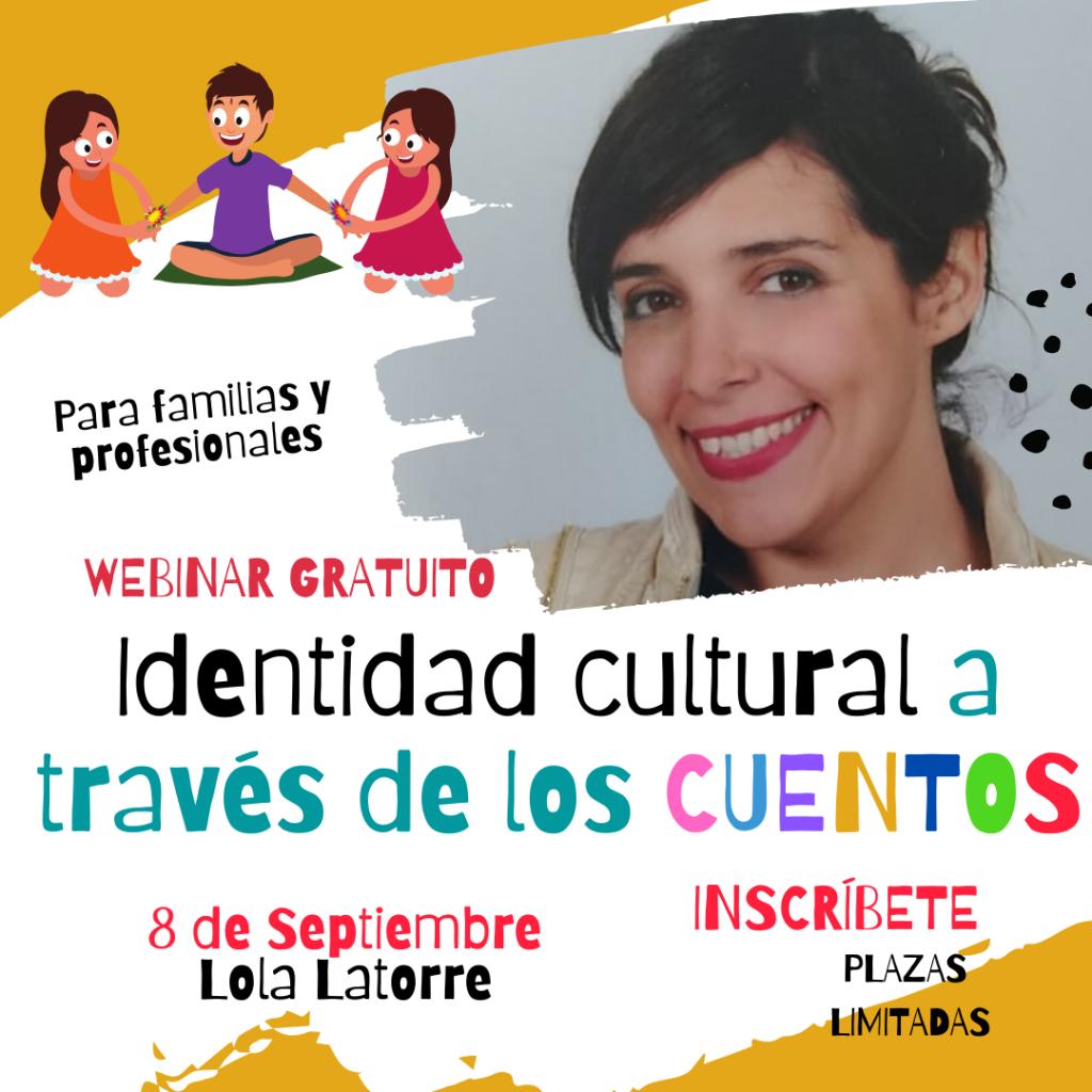 Webinar identidad cultural a través de los cuentos