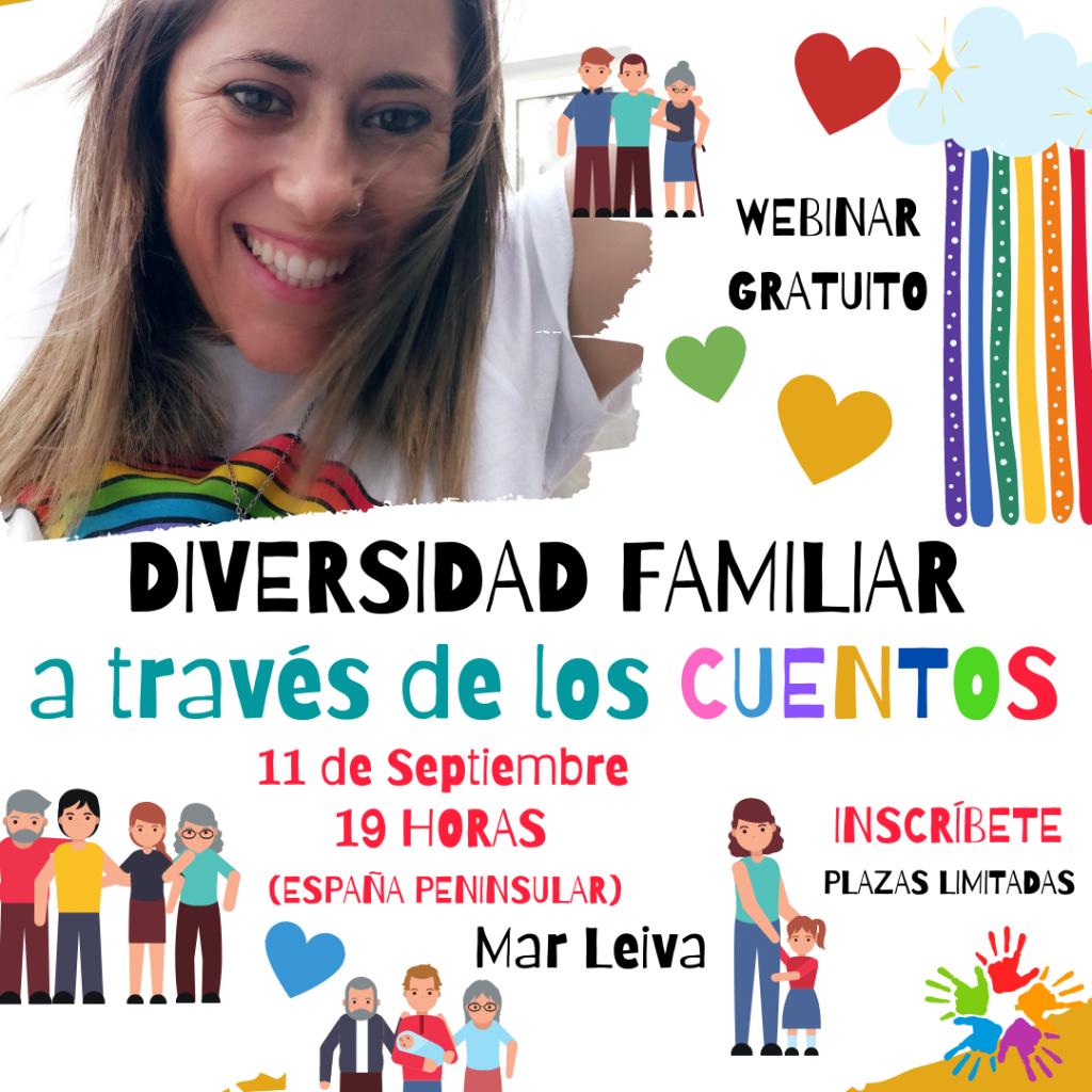 Webinar diversidad familiar a través de los cuentos