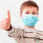 5 mascarillas quirúrgicas infantiles