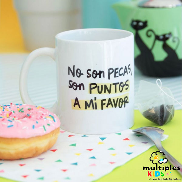 Taza no son pecas