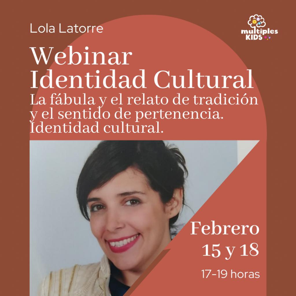 Webinar Identidad Cultural